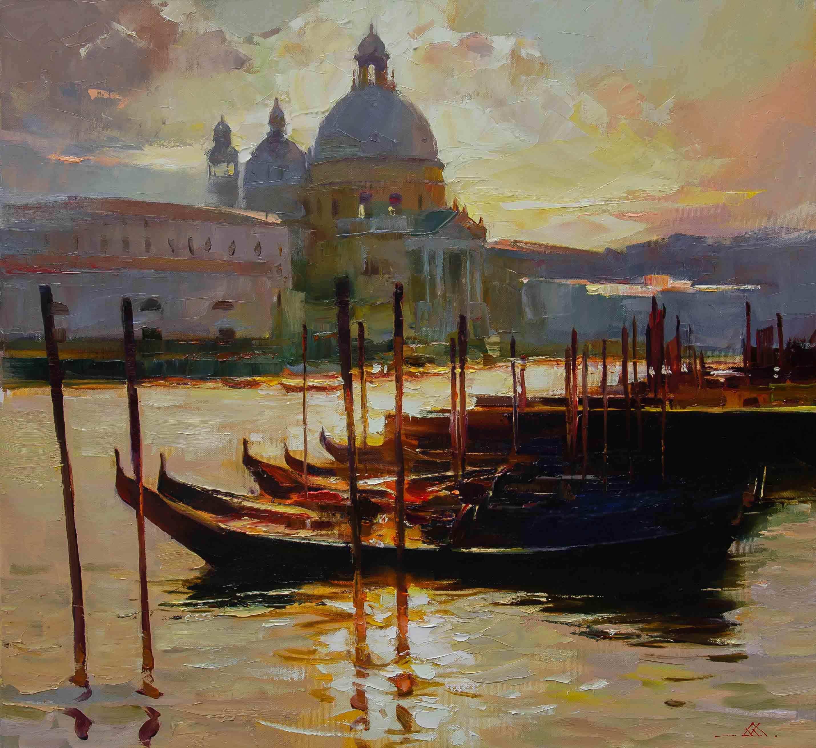 Венеція,вечоріє